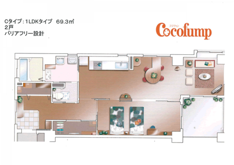 ココファン湘南(サービス付き高齢者向け住宅)の画像(4)