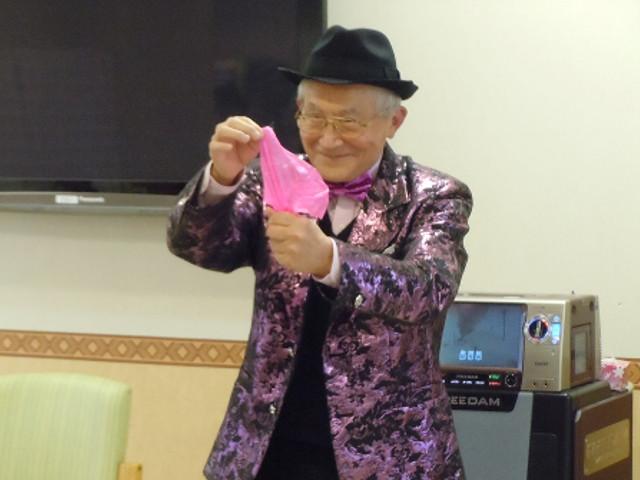 シルバーシティ聖蹟桜ヶ丘(介護付有料老人ホーム)の画像(21)マジックショー