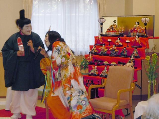 シルバーシティ聖蹟桜ヶ丘(介護付有料老人ホーム)の画像(22)ひな祭り