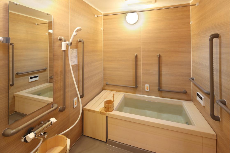 グランダ上野毛(住宅型有料老人ホーム)の画像(8)1F 浴室