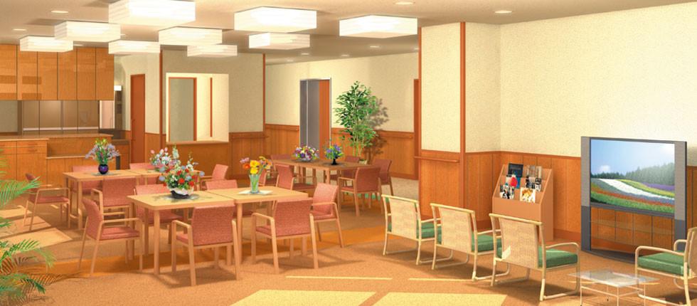 NRE大森弥生ハイツ(介護付有料老人ホーム)の画像(3)食堂
