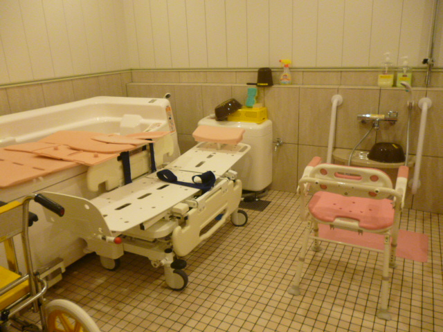老人ホーム多摩境機械浴