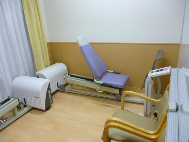 老人ホーム多摩境機能訓練室