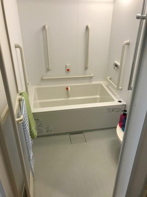 そんぽの家S柏高柳居室風呂