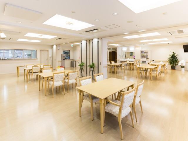 グレースメイト中村橋食堂兼機能訓練室
