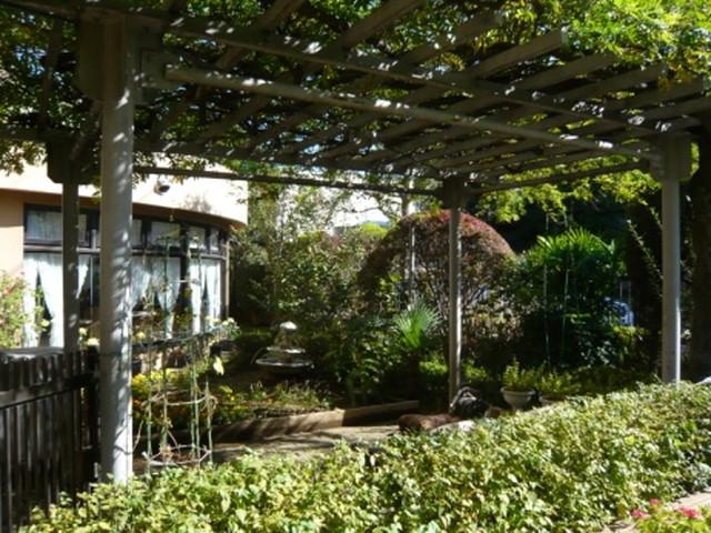 シルバーシティ石神井北館中庭