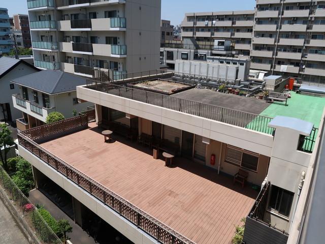 SOMPOケア ラヴィーレ錦糸町バルコニー