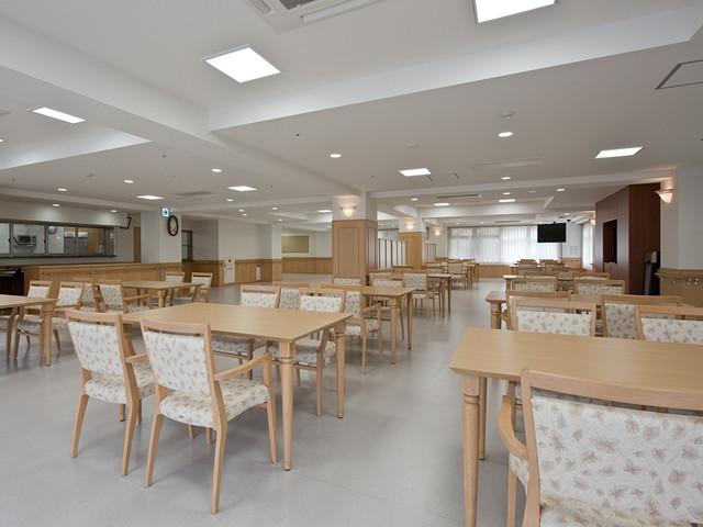 グレースメイト鷺ノ宮弐番館食堂